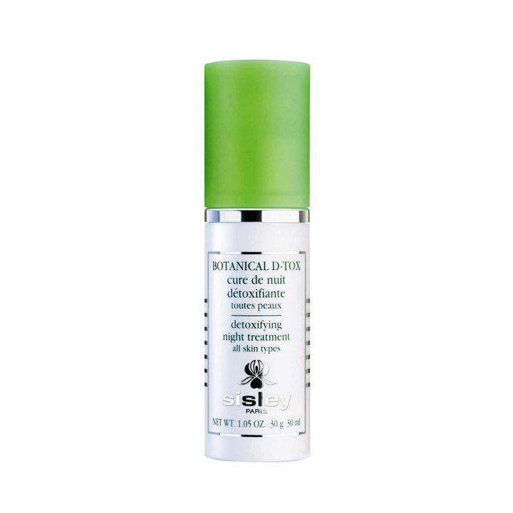 Cura de noche desintoxicante Botanical D-Tox de Sisley: productos cuidar piel mientras duermes