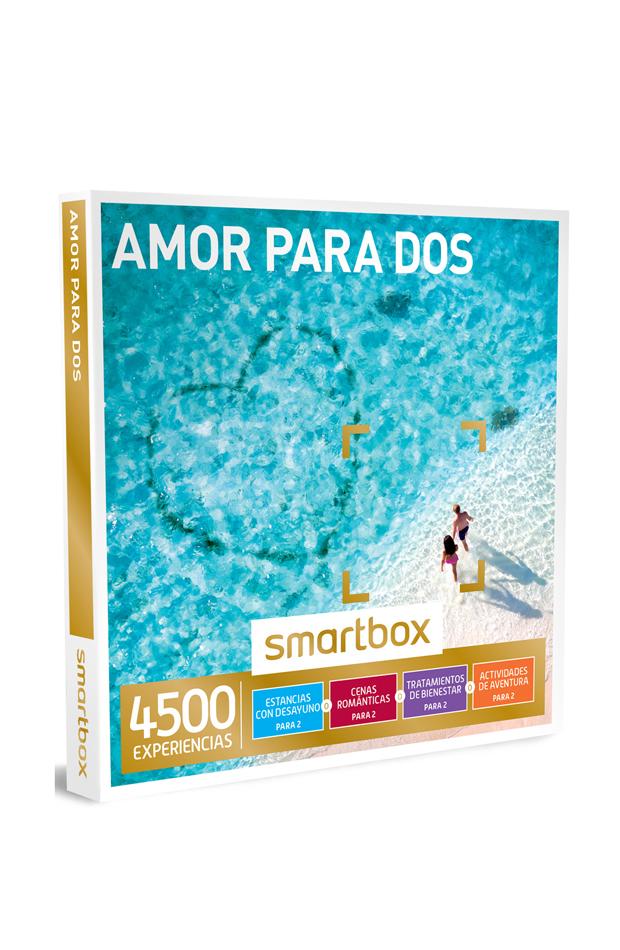 Caja Regalo 'Amor para dos' de Smartbox: regalos san valentín 2019