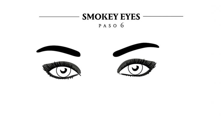 tutorial paso a paso smokey eyes