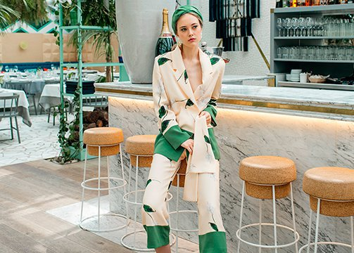 Sofía Delgado, la diseñadora de las invitadas