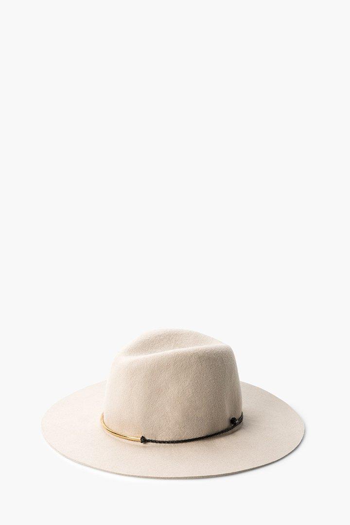 Sombrero de lana mango
