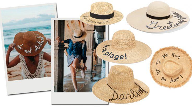 sombreros con mensaje