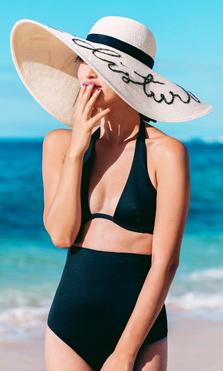 sombreros de verano con mensaje, instagram gary pepper