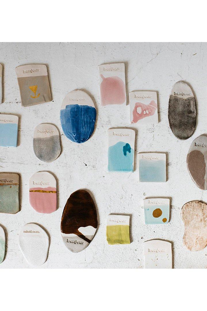 Somos Bonjour piezas cerámica