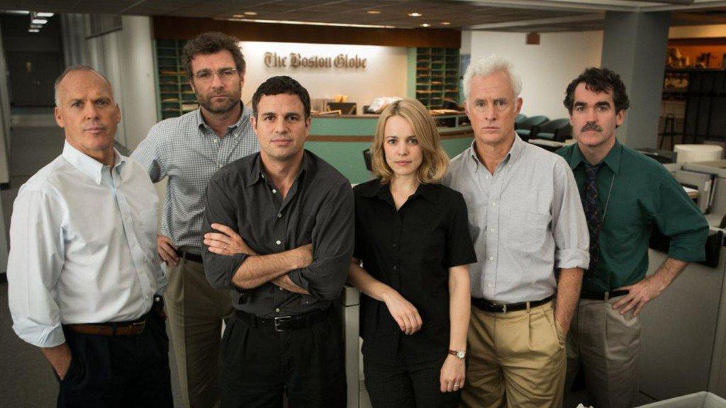 Fotograma de la película Spotlight, ganadora del Oscar 2016