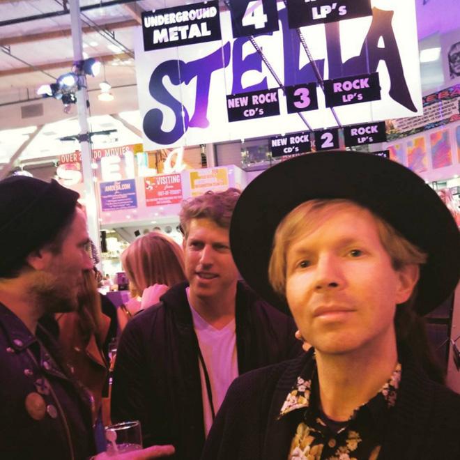 Fiesta Presentación Stella McCartney Otoño 2016 en Amoeba Music