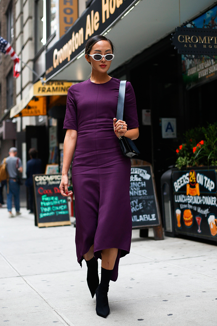 streetstyle new york fashion week