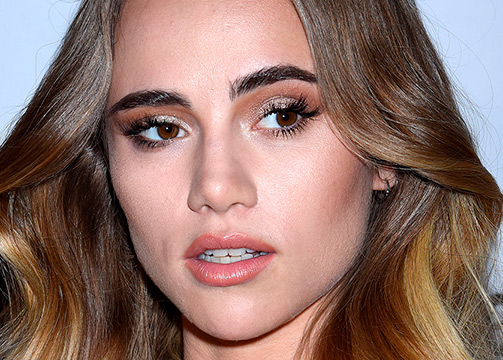 Suki Waterhouse eye contouring