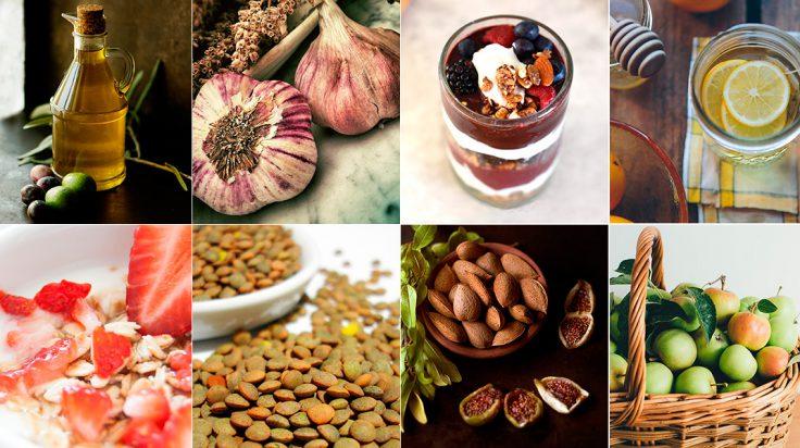 Superalimentos baratos dieta mediterranea