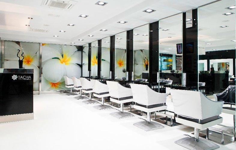 Salones de belleza para el d a de tu boda for Salones de peluqueria decoracion fotos