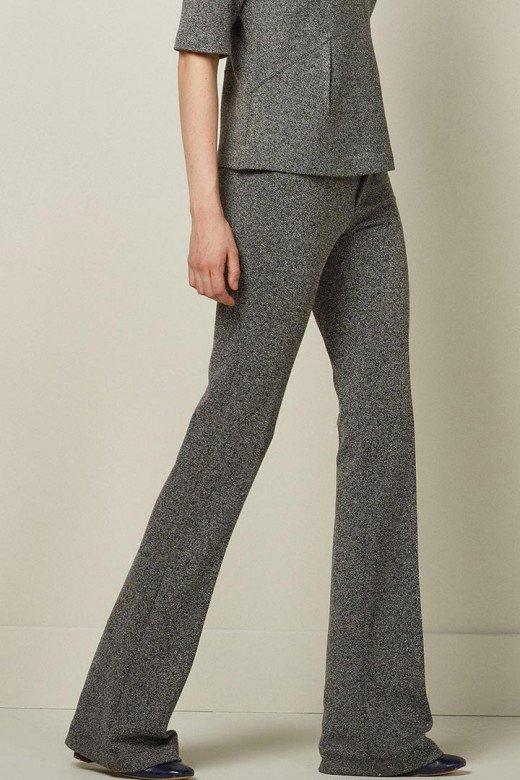 Pantalón gris de punto de Sfera