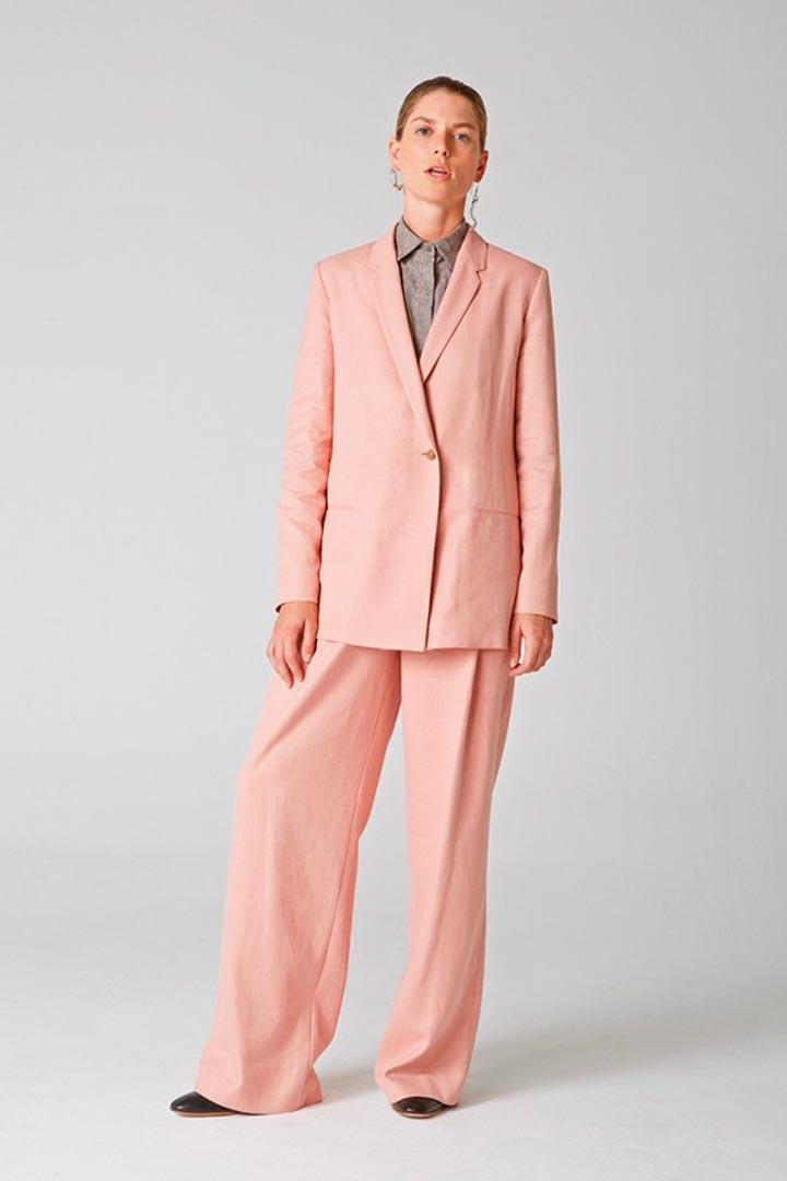 El traje dos piezas: así se lleva - StyleLovely