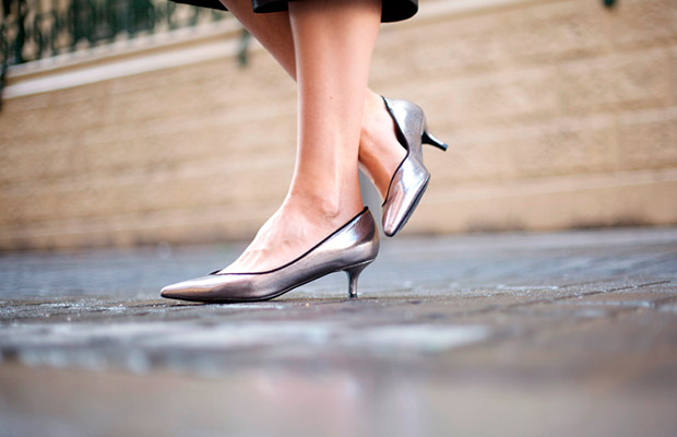 Tendencias otoño kitten heels