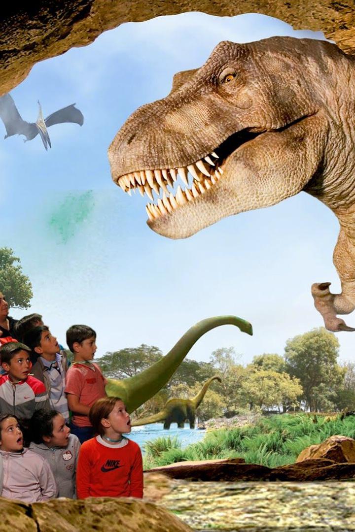 planes con niños dinopolis