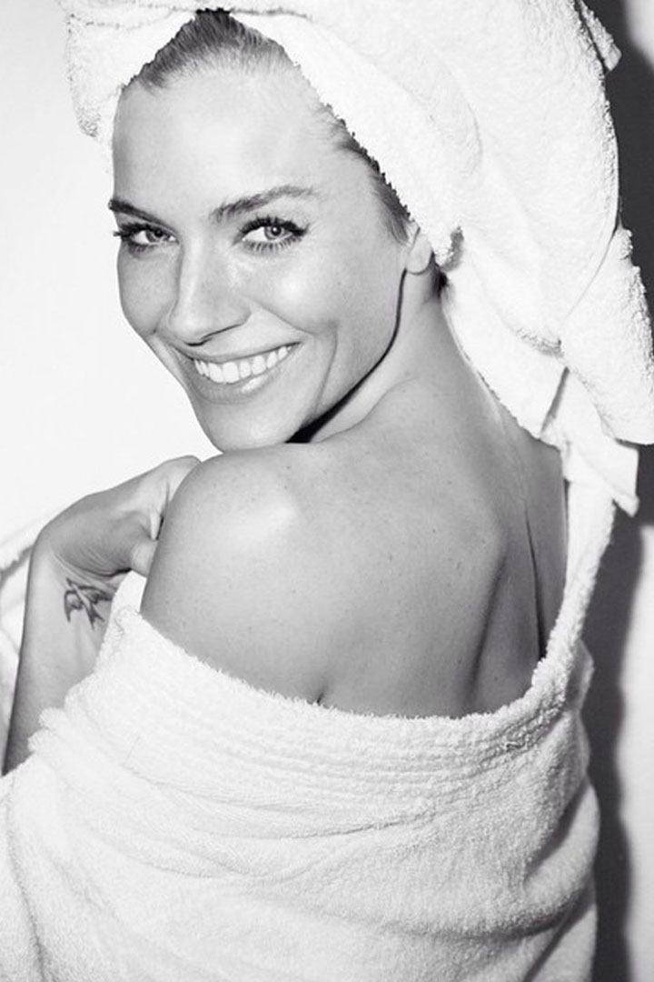 Sienna Miller Towel Series