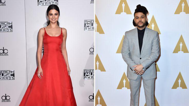 The Weeknd y Selena Gómez foto de portada
