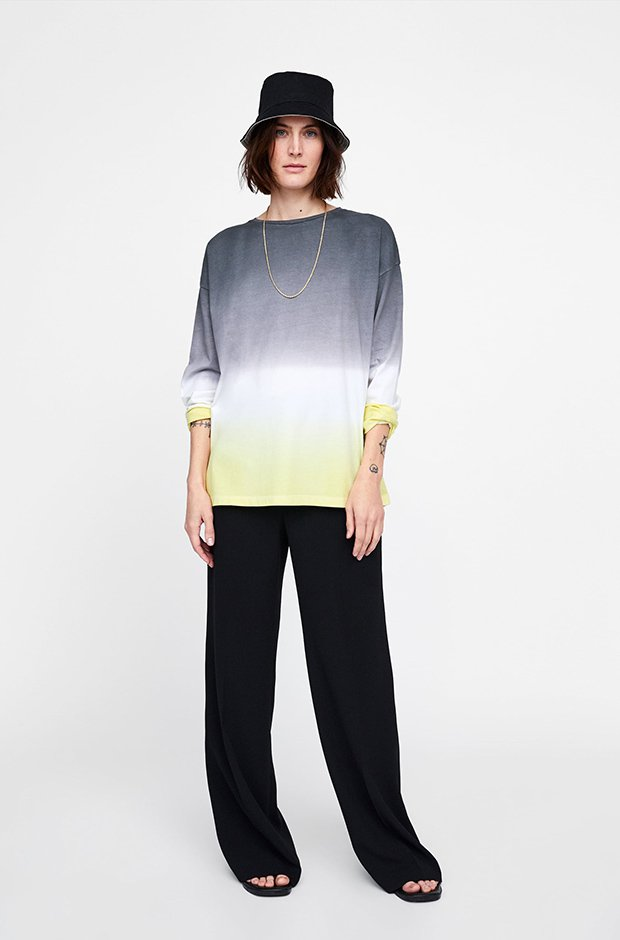 Camiseta tie-dye de Zara