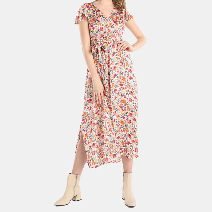 Vestido de flores de Tintoretto: imprescindibles para la maleta de verano