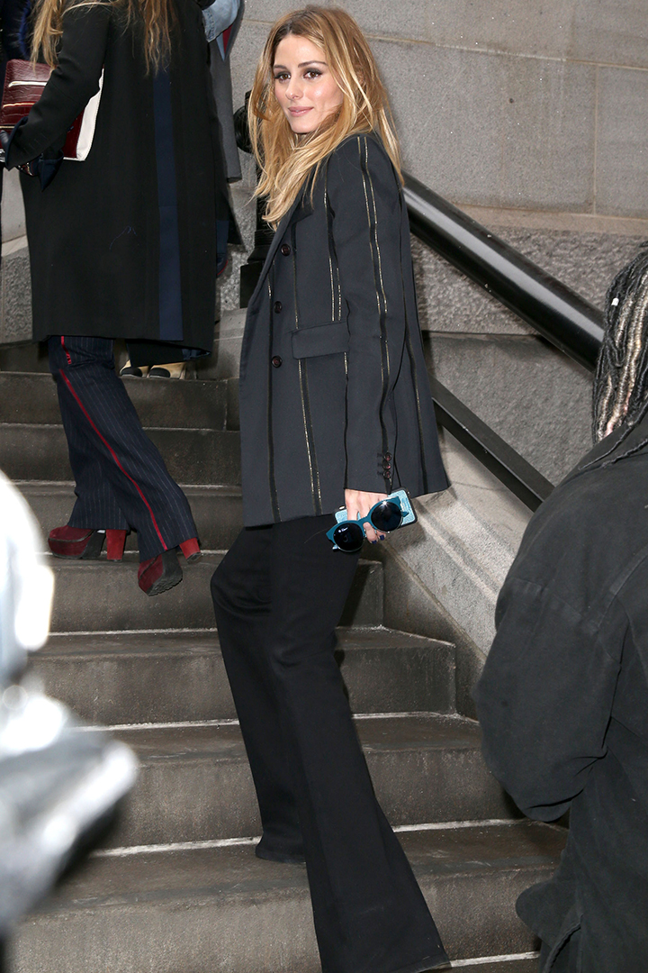 Olivia Palermo en la new york fashion week