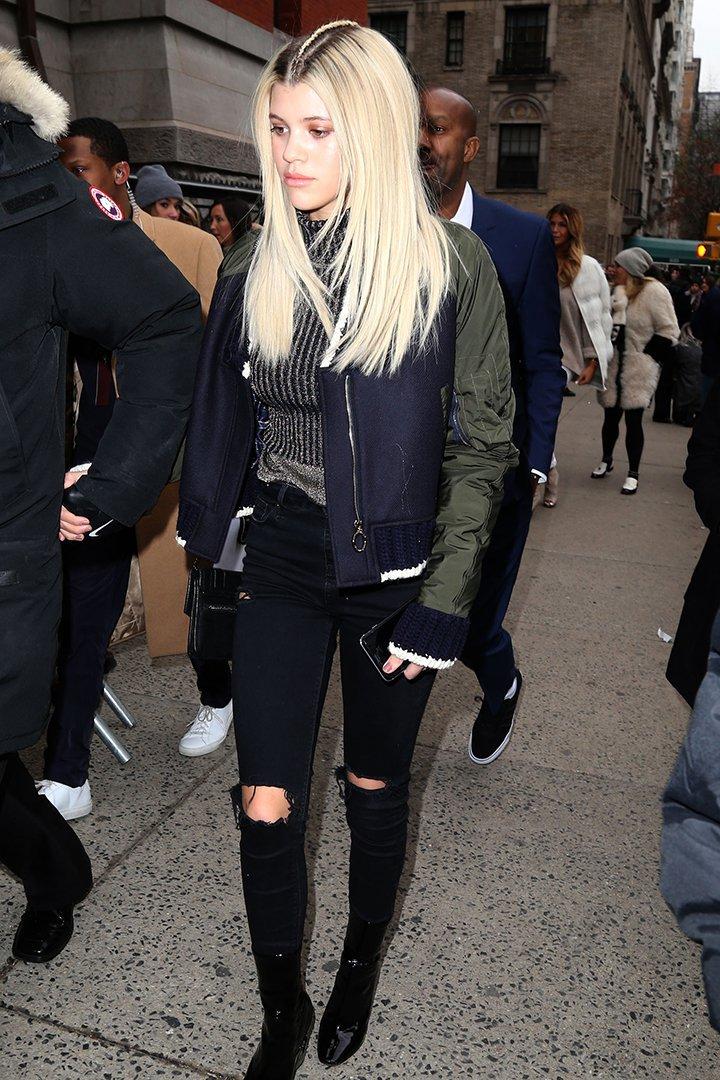 Sofia Richie en la New York Fashion Week