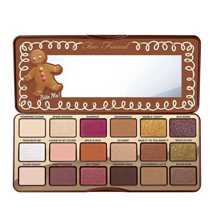 Gingerbread Spice Palette de Too Faced: ediciones navideñas beauty