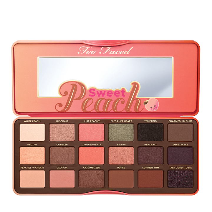 Paleta Sweet Peach de Too Faced: productos tendencias beauty 2019