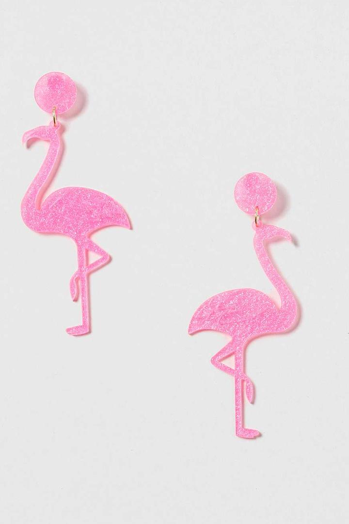 maxipendientes en rosa
