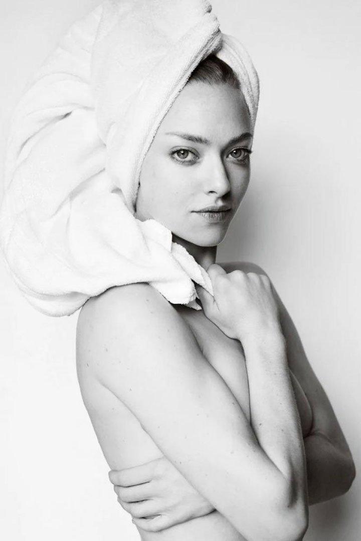 Amanda Seyfried Towel Series