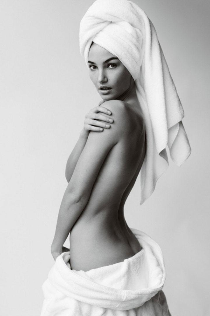 Lily Aldridge Towel Series