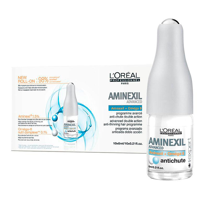 Tratamientos regeneradores para el cabello: Aminexil Programa Anticaida