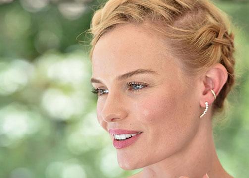 Trenzas para novias: Kate Bosworth