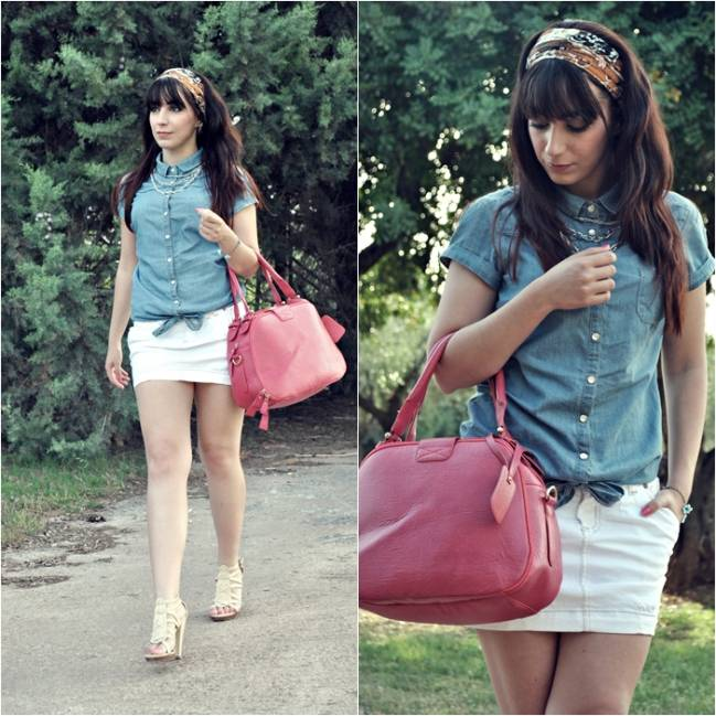 Denim Shirt-42864-lovelystyle
