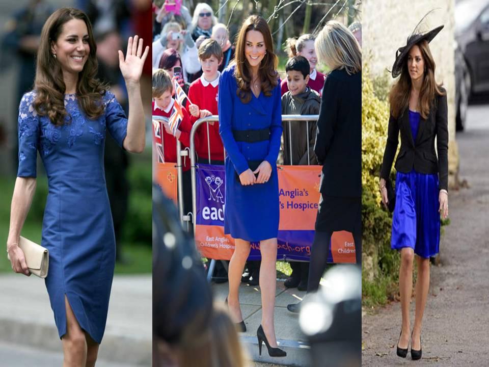 Combinar vestido azul y verde