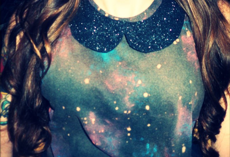 My DIY galaxy T-shirt! With my BFF!<3-38240-chic-style
