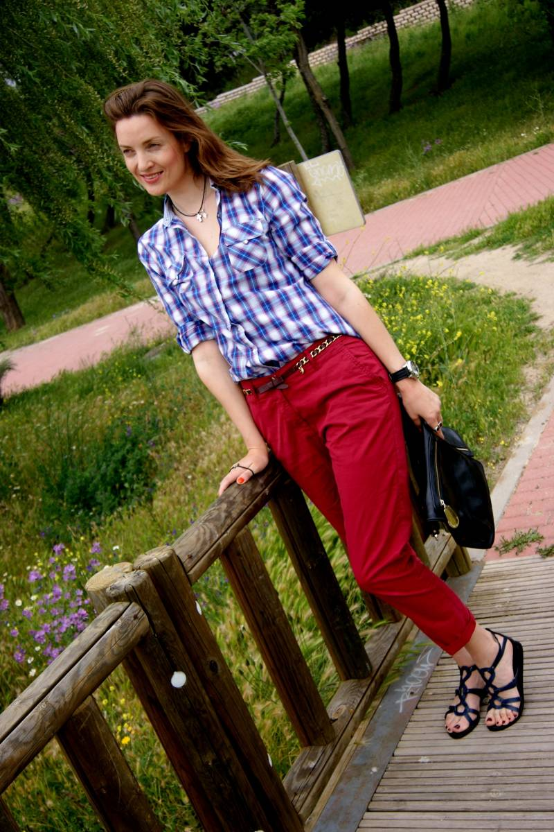 Burgundy pants-42648-lisovin