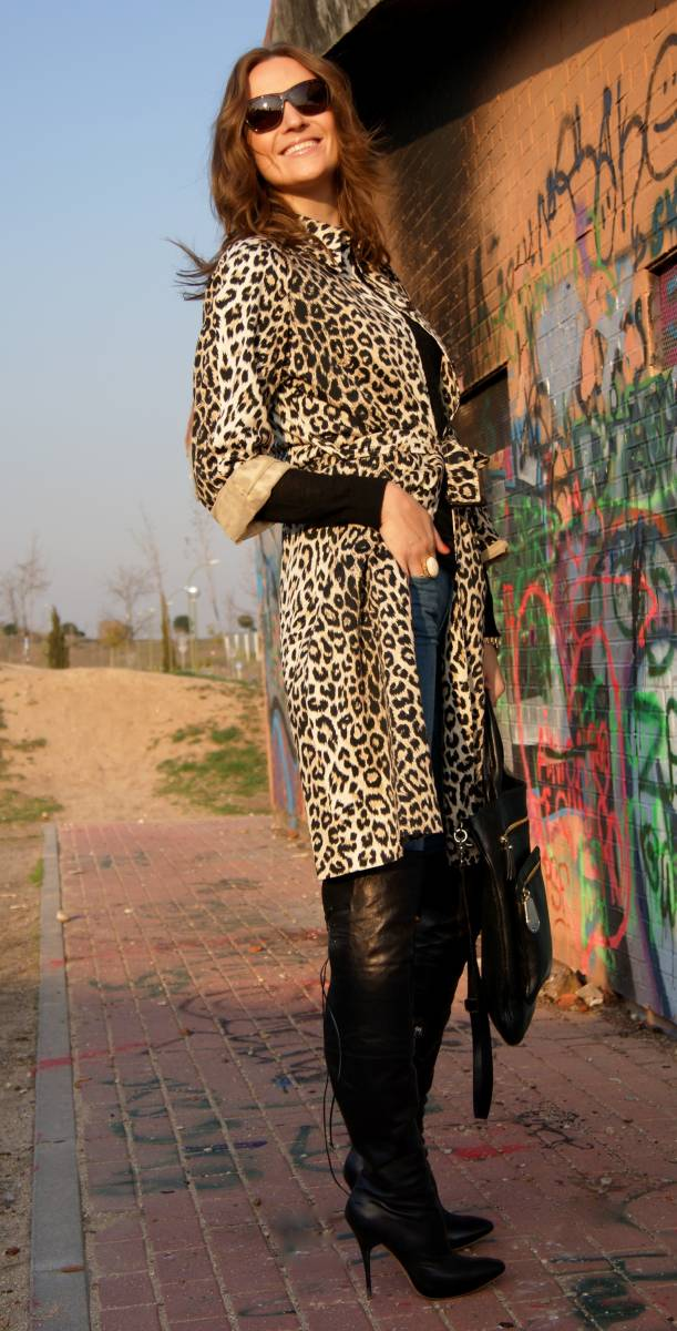 Leopard print & denim & black-38153-lisovin