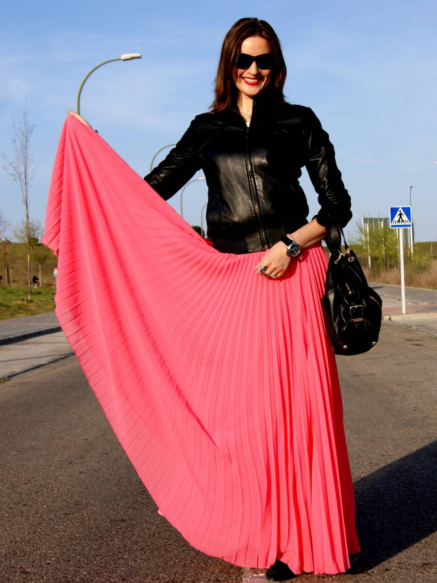 My new pink pleated skirt-38636-lisovin