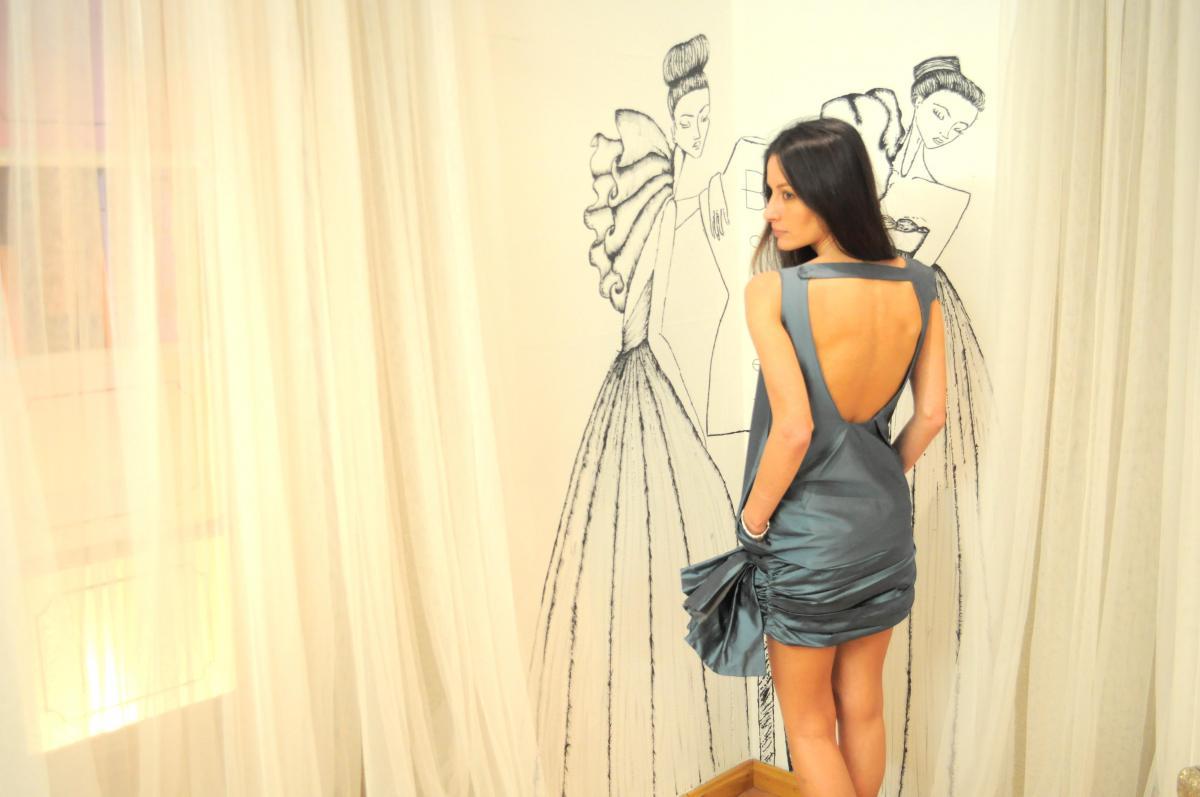 Boüret blue dress