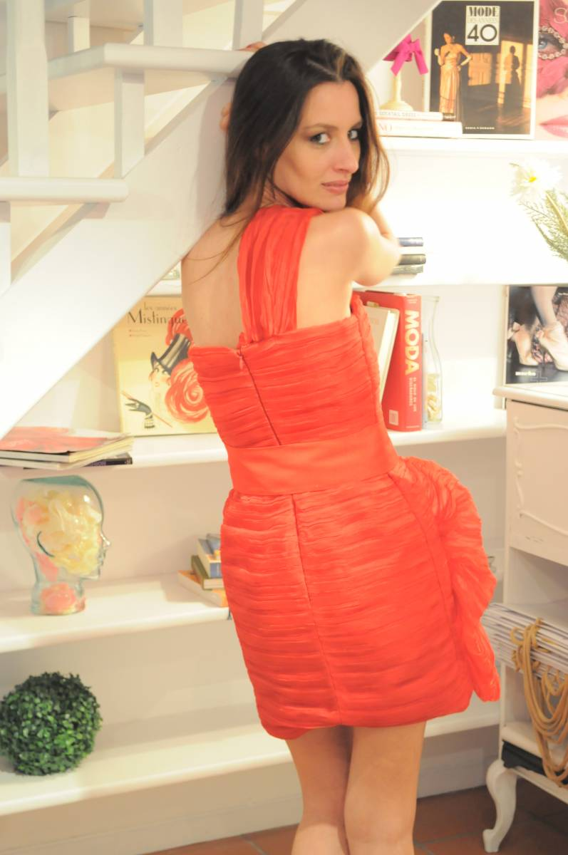 Boüret red dress