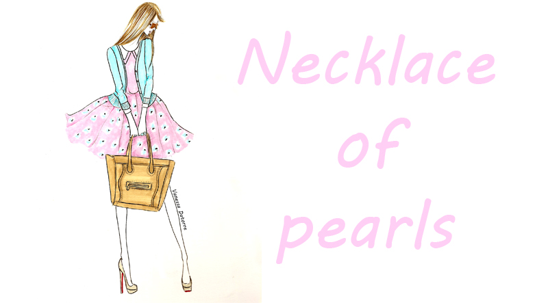 Portada Beatriz Necklace of pearls