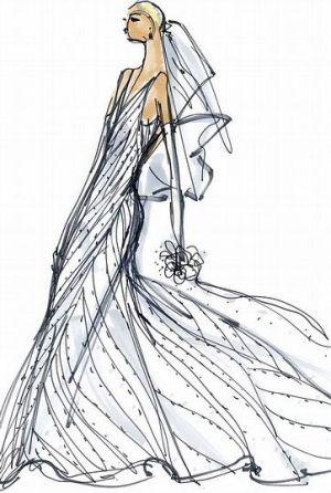 Vestido novia Marta Ortega