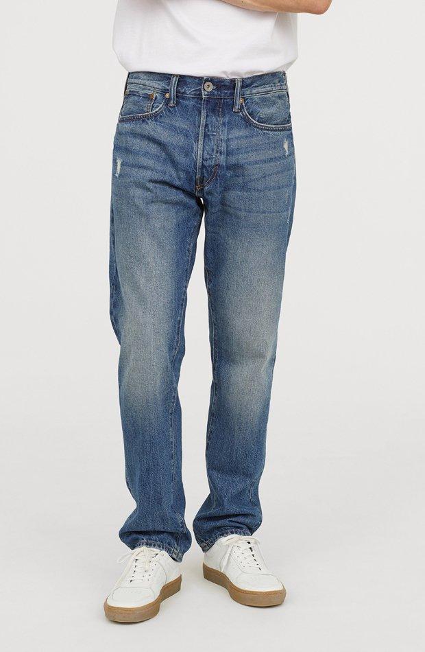Straight Jeans de H&M: tendencias masculinas 2019