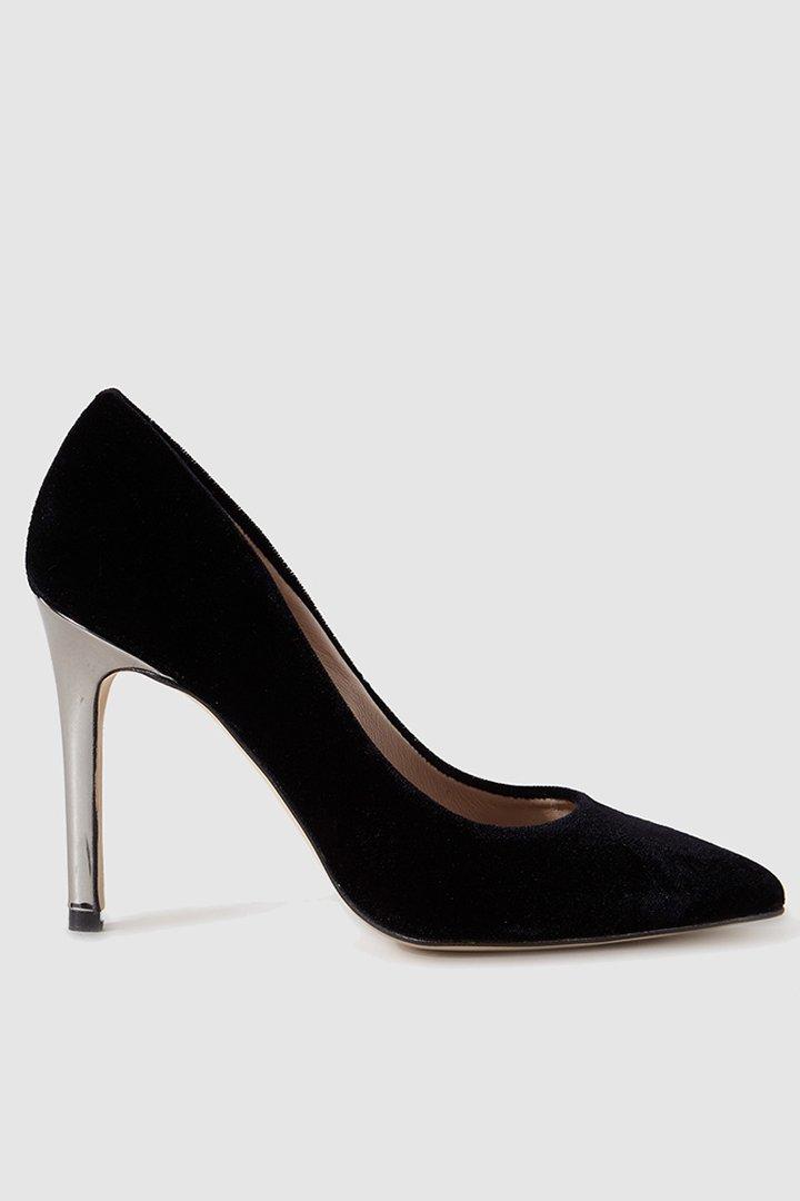 looks para estas navidades con El Corte Inglés. Zapatos de salón tacón metal