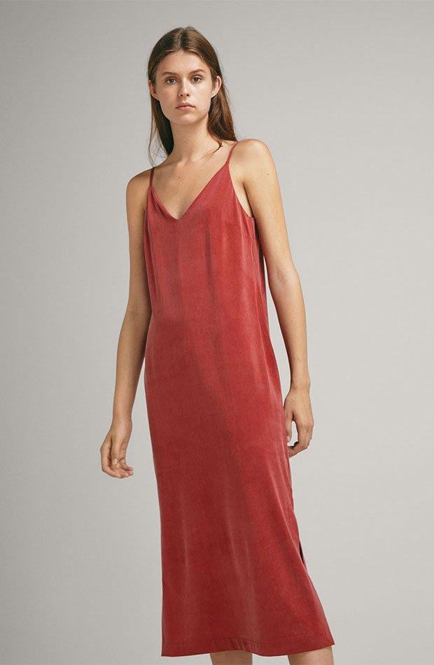 Vestido lencero de Massimo Dutti
