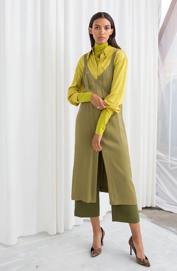 Vestido lencero de & Other STories