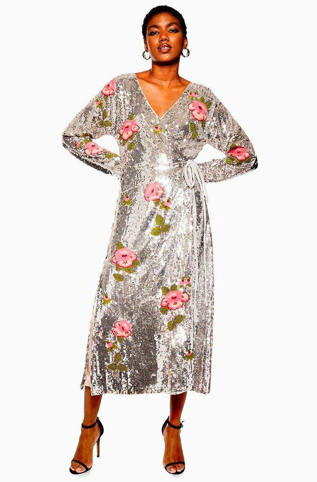 5a1abc871 Los vestidos de lentejuelas definitivos para tu fiesta de Nochevieja ...
