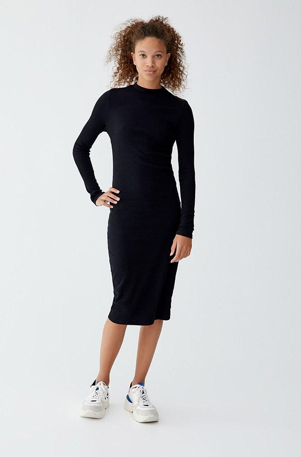 Tunear vestido negro para boda