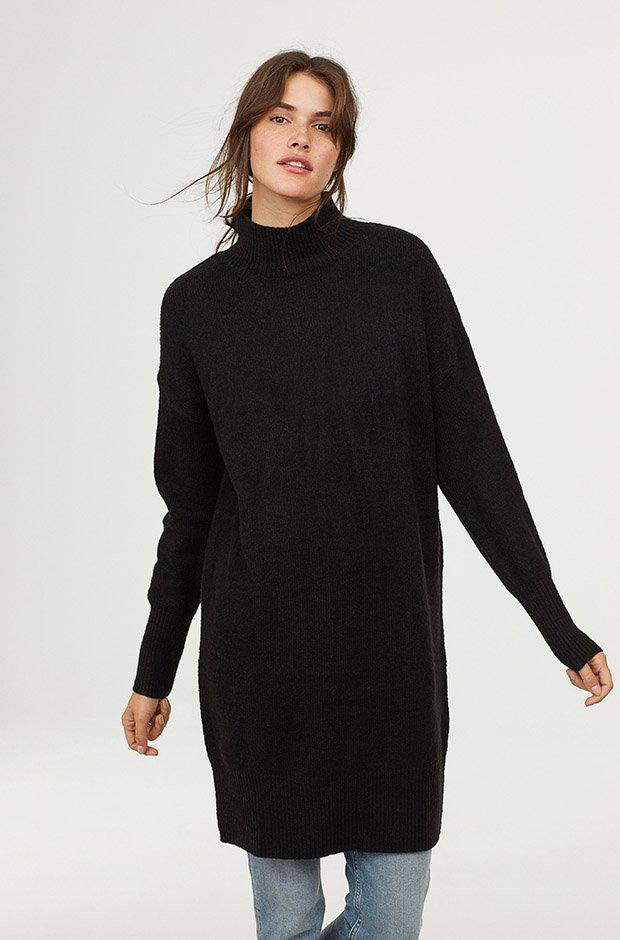 fb72af1cb 10 vestidos negros que te solucionarán tus looks de invierno ...
