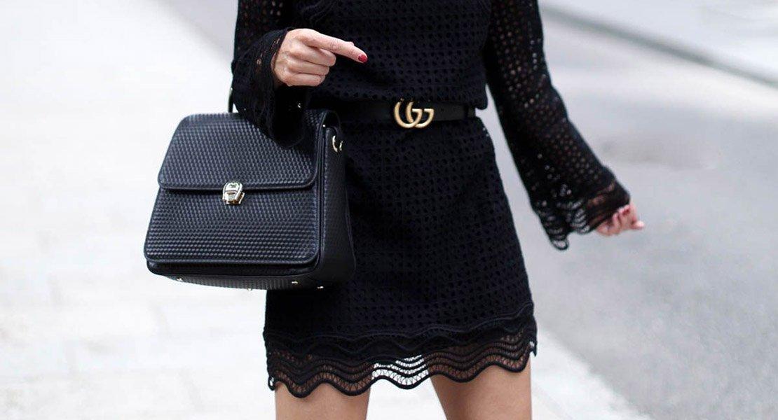 Vestidos negros invierno 2019