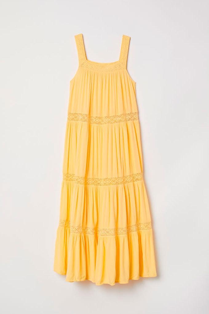 Vestidos versátiles en amarillo